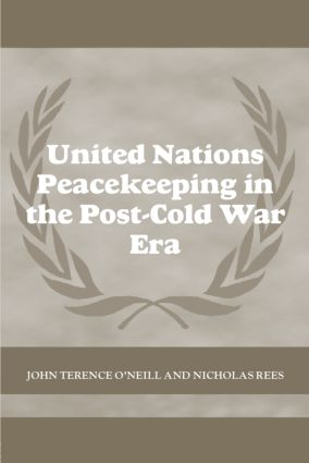 United Nations Peacekeeping in the Post-Cold War Era (Paperback) book cover