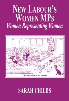 New Labour's Women MPs: Women Representing Women (Paperback) book cover