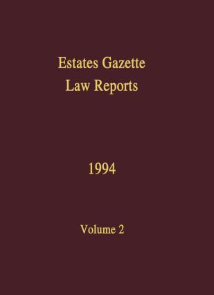 EGLR 1994 book cover