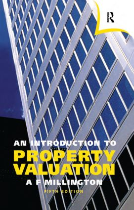 An Introduction to Property Valuation: 5th Edition (Paperback) book cover