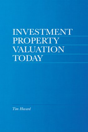 Investment Property Valuation Today: 1st Edition (Paperback) book cover