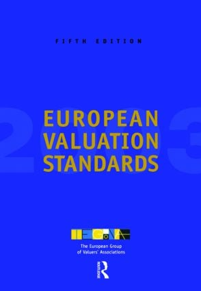 European Valuation Standards 2003: 1st Edition (Paperback) book cover