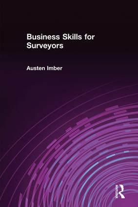 Business Skills for Surveyors (Paperback) book cover