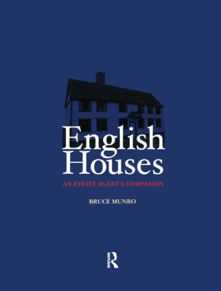 English Houses: An Estate Agent's Companion book cover