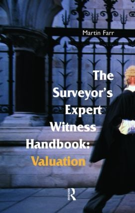 The Surveyors' Expert Witness Handbook (Paperback) book cover
