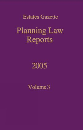 PLR 2005: 1st Edition (Hardback) book cover