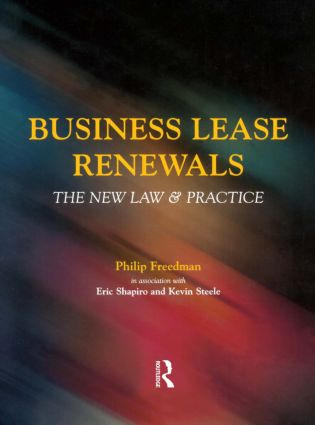 Business Lease Renewals (Paperback) book cover