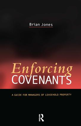 Enforcing Covenants (Paperback) book cover