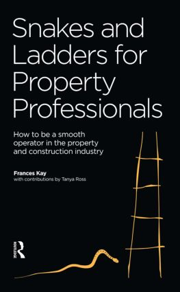 Snakes and Ladders for Property Professionals (Paperback) book cover