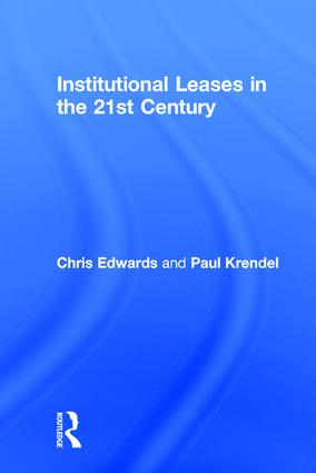 Institutional Leases in the 21st Century book cover