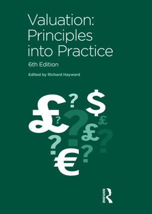 Valuation: Principles into Practice, 6th Edition (Paperback) book cover