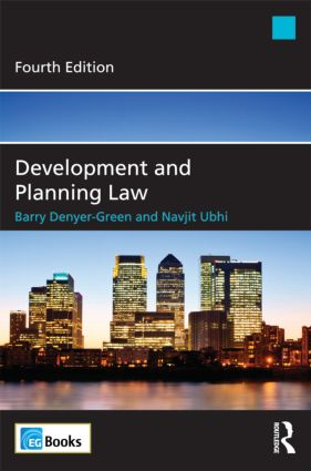 Development and Planning Law: 4th Edition (Paperback) book cover