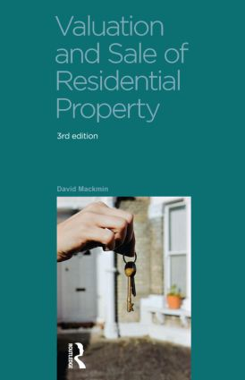 Valuation and Sale of Residential Property: 3rd Edition (Paperback) book cover