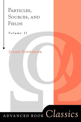 Particles, Sources, And Fields, Volume 2 book cover