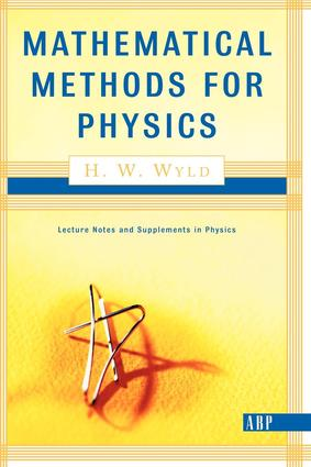 Mathematical Methods For Physics: 1st Edition (Paperback) book cover