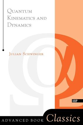 Quantum Kinematics And Dynamic: 1st Edition (Paperback) book cover