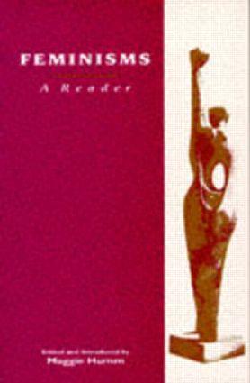 Feminisms: A Reader book cover