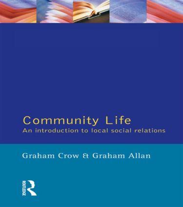 Community Life: 1st Edition (e-Book) book cover