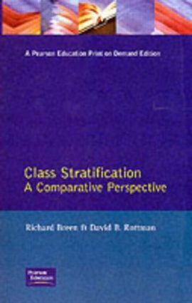 Class Stratification: Comparative Perspectives, 1st Edition (Paperback) book cover