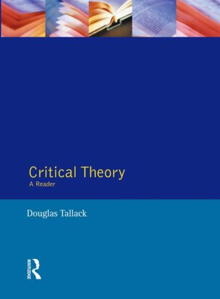 Critical Theory: A Reader, 1st Edition (Paperback) book cover