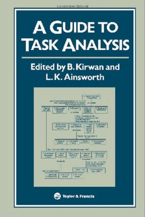 A Guide To Task Analysis: The Task Analysis Working Group, 1st Edition (Paperback) book cover