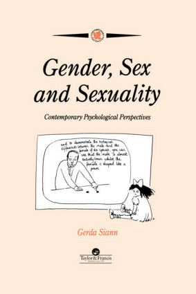 Gender, Sex and Sexuality: Contemporary Psychological Perspectives book cover