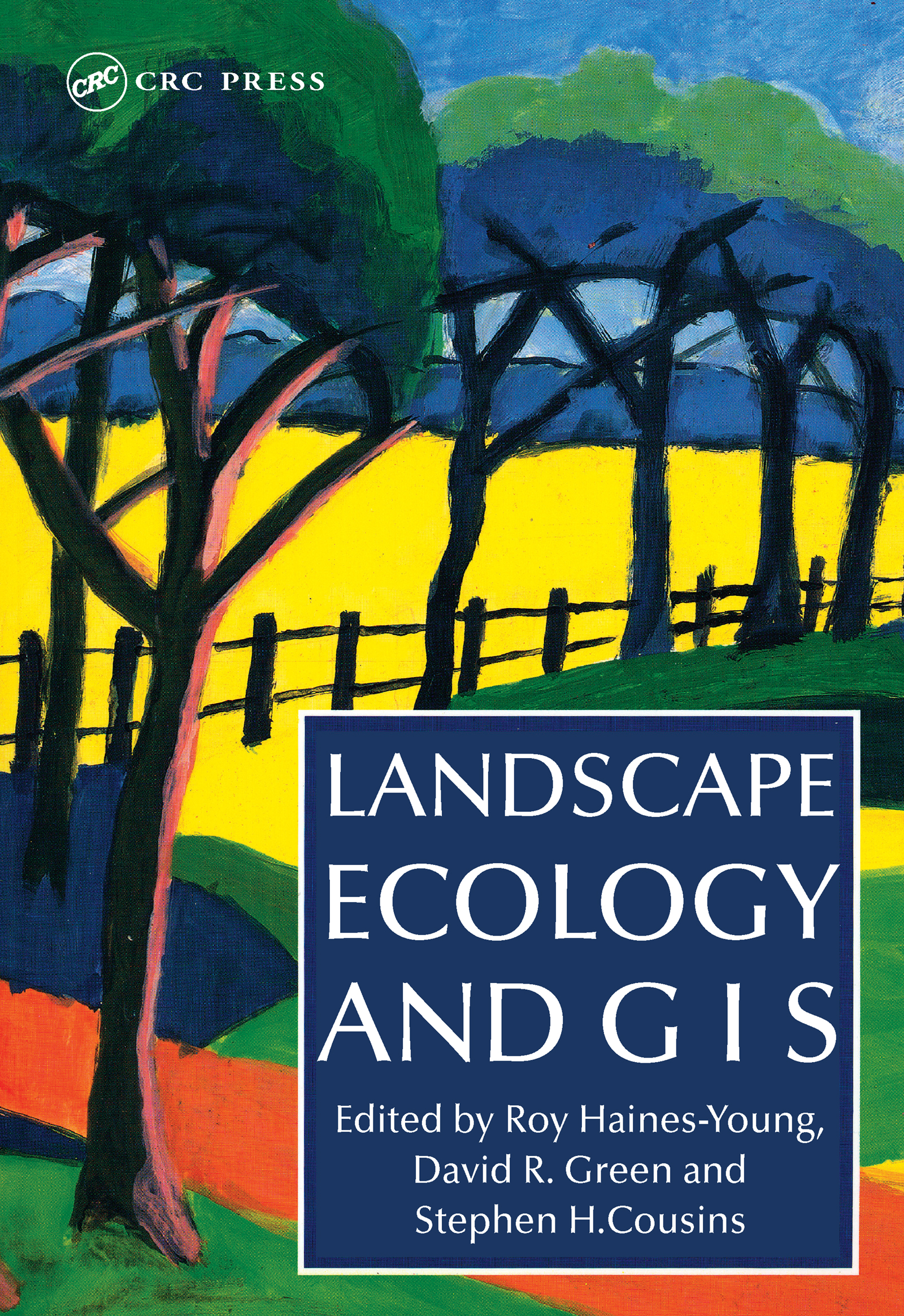 Landscape Ecology And Geographical Information Systems: 1st Edition (Paperback) book cover