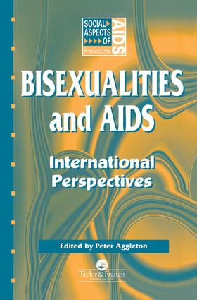 Bisexualities and AIDS: International Perspectives book cover