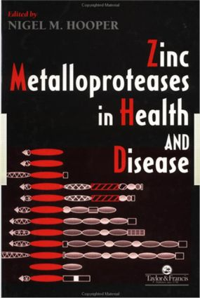 Zinc Metalloproteases In Health And Disease: 1st Edition (Hardback) book cover