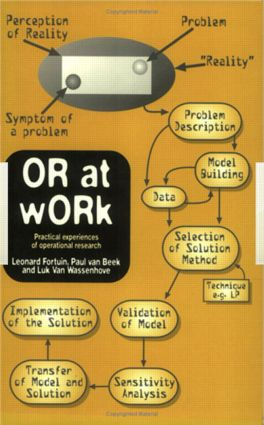 OR At Work: Case Studies On The Application Of OR In Industry, Service, Agriculture And health care, 1st Edition (Paperback) book cover