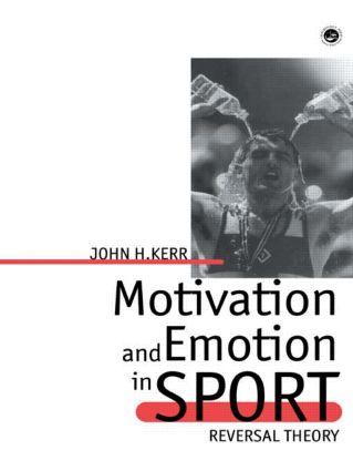 Motivation And Emotion In Spor (Hardback) book cover