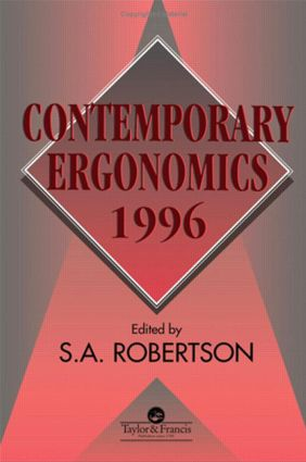 Contemporary Ergonomics 1996: 1st Edition (Paperback) book cover