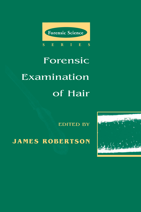 Forensic Examination of Hair (Hardback) book cover