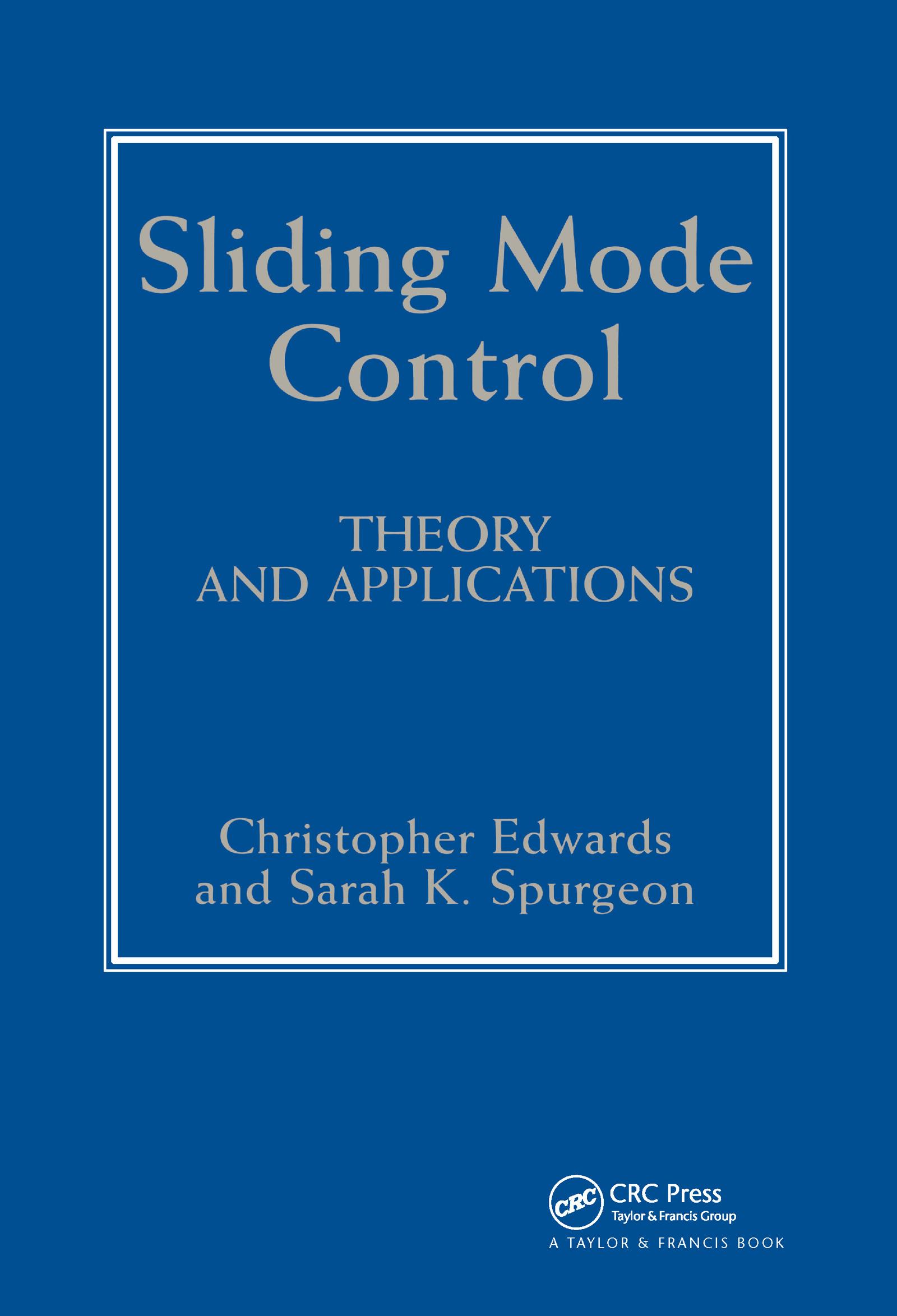 Sliding Mode Control