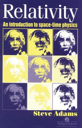 Relativity: An Introduction to Spacetime Physics, 1st Edition (Paperback) book cover