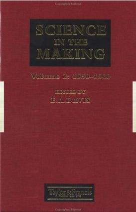 Science In The Making: 1850-1900, 1st Edition (Hardback) book cover