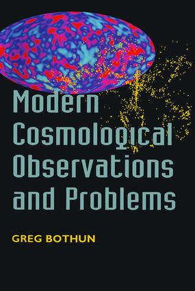 Modern Cosmological Observations and Problems: 1st Edition (Paperback) book cover