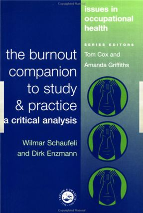 The Burnout Companion To Study And Practice: A Critical Analysis, 1st Edition (Paperback) book cover