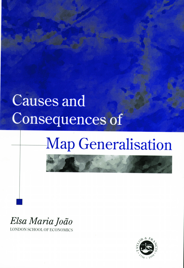 Causes And Consequences Of Map Generalization: 1st Edition (Paperback) book cover