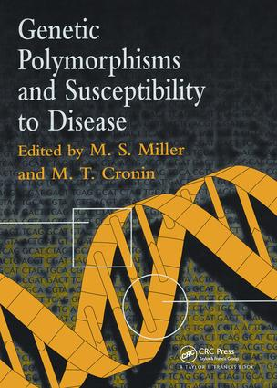 Genetic Polymorphisms and Susceptibility to Disease: 1st Edition (Hardback) book cover