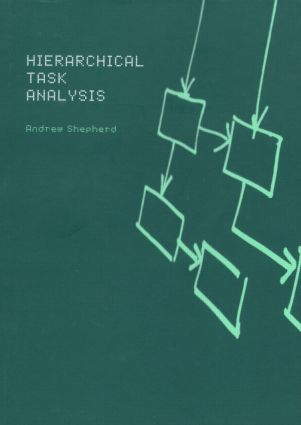 Hierarchial Task Analysis: 1st Edition (Paperback) book cover