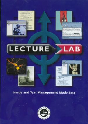 LectureLab: Image and Text Management Made Easy, 1st Edition (CD-ROM) book cover