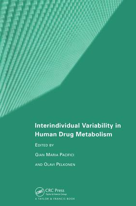 Interindividual Variability in Human Drug Metabolism: 1st Edition (Hardback) book cover
