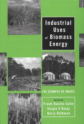 Industrial Uses of Biomass Energy: The Example of Brazil (Hardback) book cover