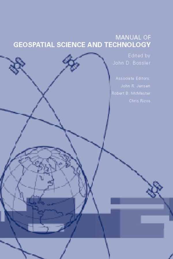 Manual of Geospatial Science and Technology: 1st Edition (Hardback) book cover