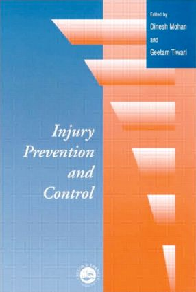 Injury Prevention and Control: 1st Edition (Hardback) book cover