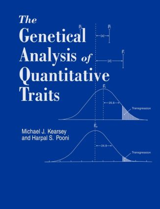 Genetical Analysis of Quantitative Traits: 1st Edition (Paperback) book cover