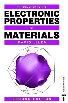 Introduction to the Electronic Properties of Materials: 2nd Edition (Paperback) book cover
