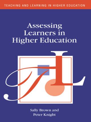 Assessing Learners in Higher Education book cover