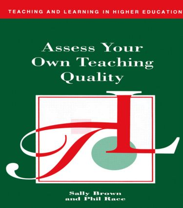 Assess Your Own Teaching Quality (e-Book) book cover